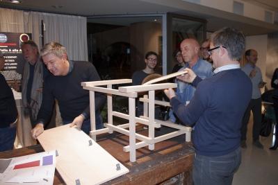 17 pezzi di legno - workshop Atelier Amatori Thiene
