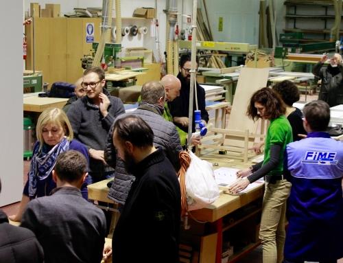 """""""17 Pezzi di Legno"""": un successo il primo Workshop Atelier Amatori"""